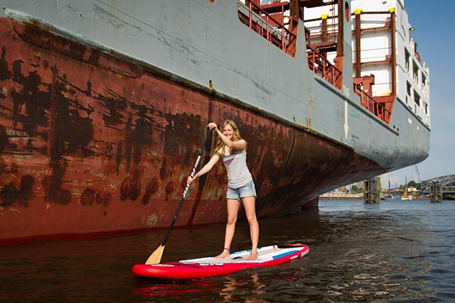 Sup In the City with Fanatic! Hamburg Germany
