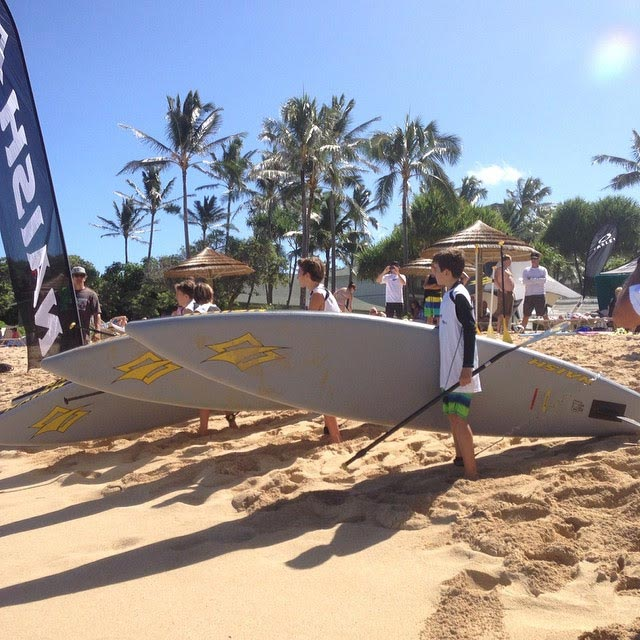 Na Kama Kai Youth Clinic brings the Ocean Sports community together at Turtle Bay