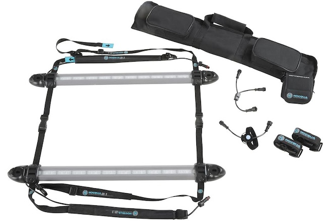 The NOCQUA Sport underwater LED lighting system will be available in March 2015