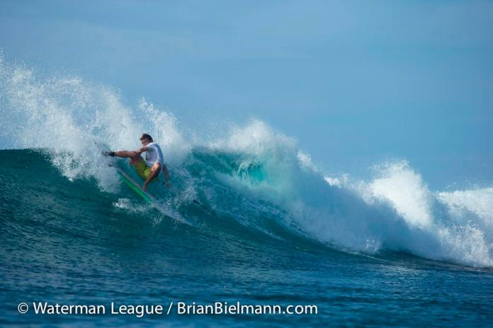 Justin Holland shows his hunger with a fourth place finish at the Sunset Beach Pro