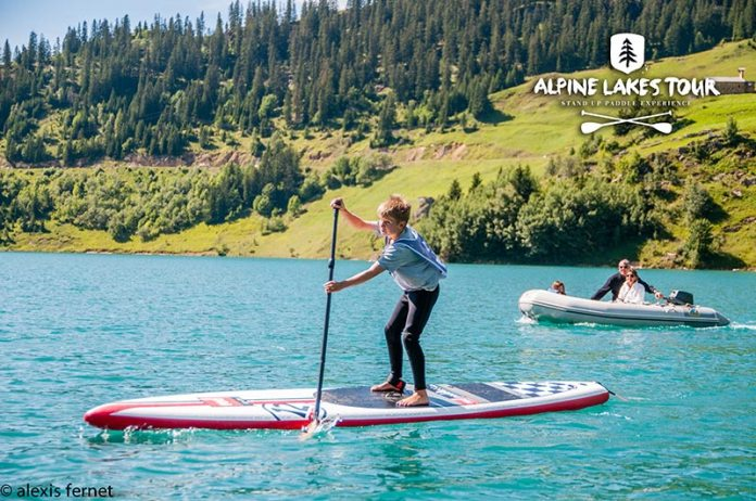 Red Paddle Co Sponsors the Alpine Lakes Tour 4