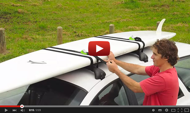 Paddle Board Car Racks >> How To Lock Your Standup Paddleboard To The Roof Rack