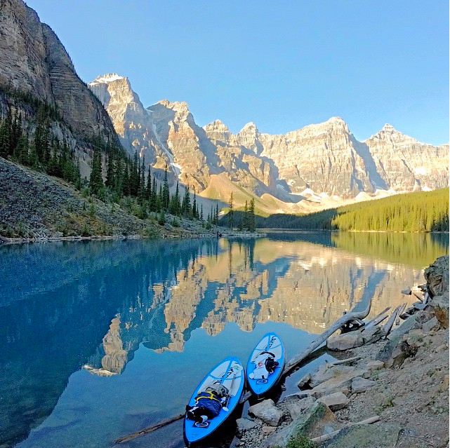 munroholland2511 At the end of the final morning and paddle of our amazing experience we sat and looked back on Moraine Lake. I once thought that my need for adventure was temporary and that I would eventually feel fulfilled. Now it is abundantly clear that this need will only be fulfilled by knowing I will never stop exploring.