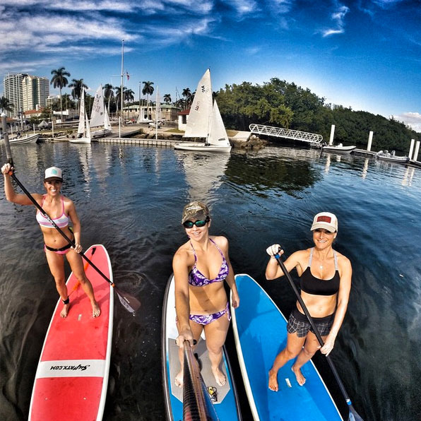 suptheworkout We love our endless summer!