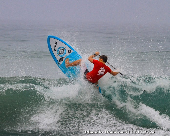 New faces turn heads at this year's US Open Trials, as competition intensifies here in Huntington Beach California