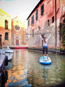 SUP & a CUP- Venetian Canals in Venice, Italy 6