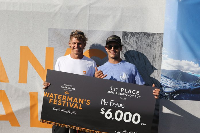 Mo Freitas Wins First Annual Quiksilver Waterman's Festival 8