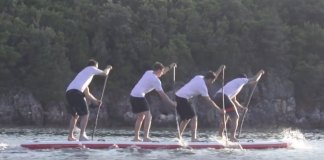 Red Paddle Co Unleash The Dragon: A 4 Person Racing Sup