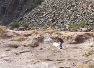 Some Of The Gnarliest River Sup'ing You Will Ever See