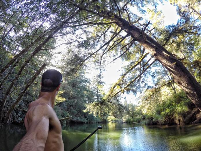 Paddling the Siltcoos River with Chase Kosterlitz