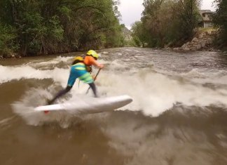 Miles Harvey Epic River Sup Highlight Reel