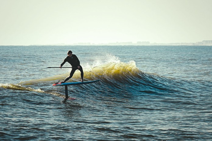Sean Poynter Starboard foil photo Alex King