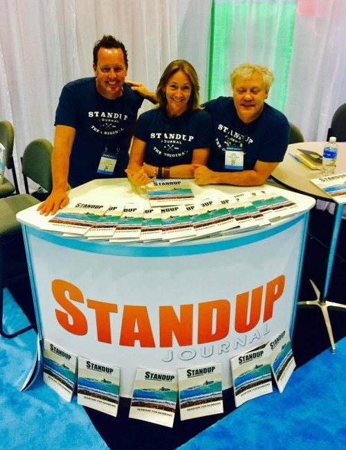 Scott Stahley, Clay Feeter, Evelyn O'Doherty Standup Journal Surf Expo 2017
