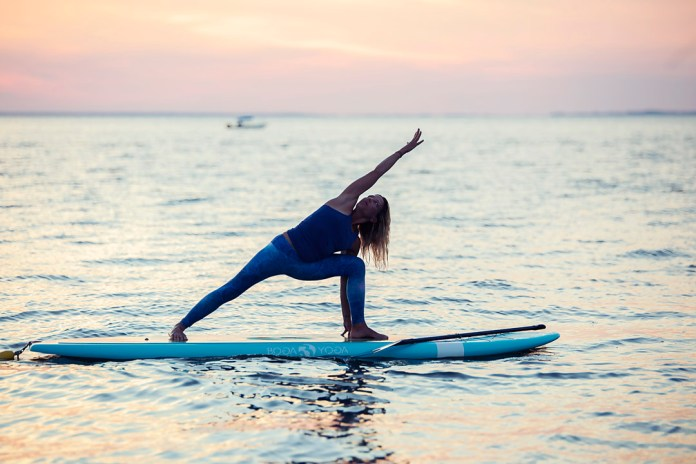 Standup Paddle Yoga 101 - A beginner's sequence to start