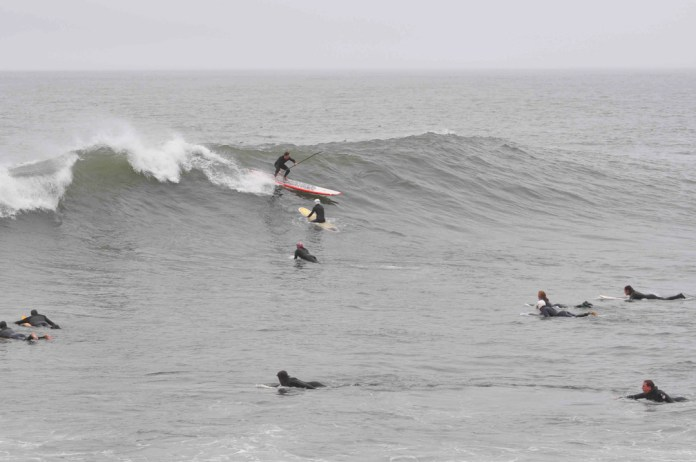 Jean Rathle Fort Point SUP Surf San Francisco