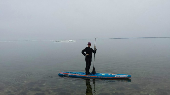 Cold Weather Paddling tips float plan