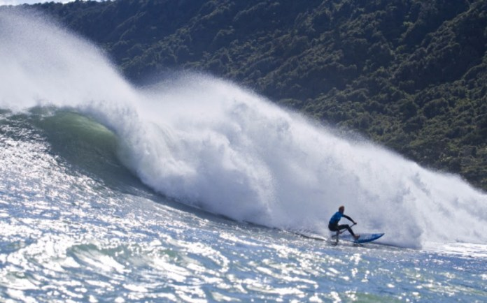 Connor Baxter Starboard Ultimate Waterman surf