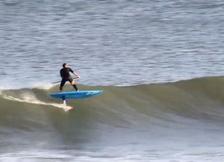 Could This Be The Longest Sup Foil Wave Ever Ridden?
