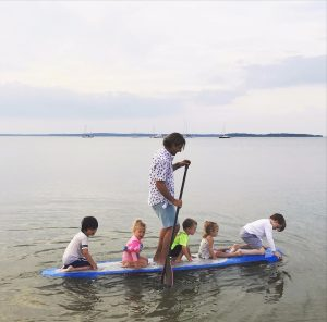 Jesse Spooner Father's Day Sag Harbor paddle
