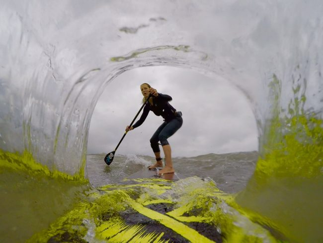 GoPro Stand up paddling