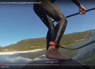 Turn in the surf Surefire Paddleboards Australia
