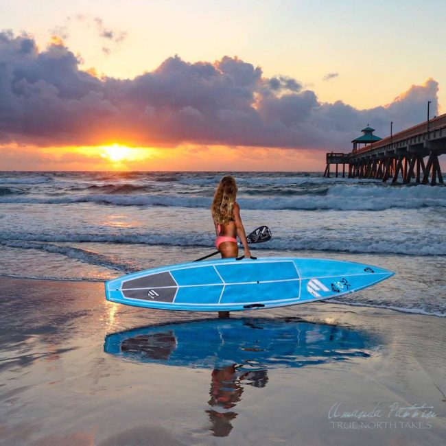 Victoria Burgess Sunshine SUP Series Florida ECS