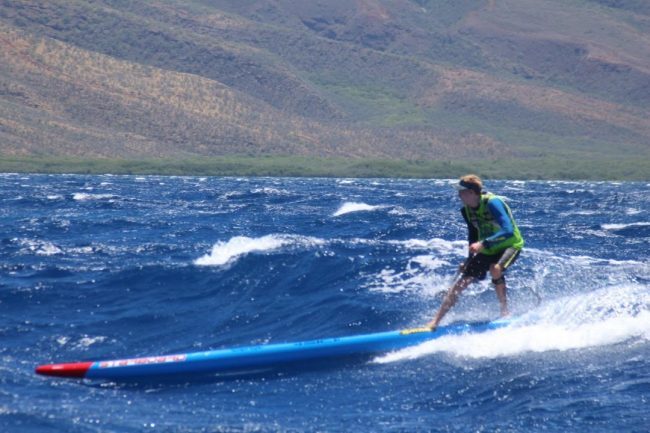Connor Baxter Starboard Maui to Molokai M2M riding bumps