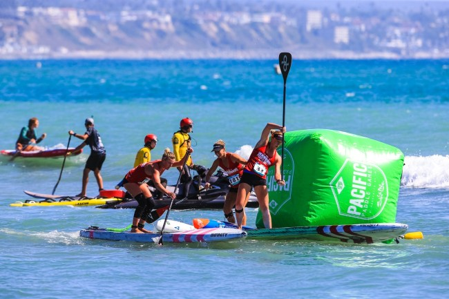 Candice Appleby Jade Howson Infinity Sup Pacific Paddle Games 2017