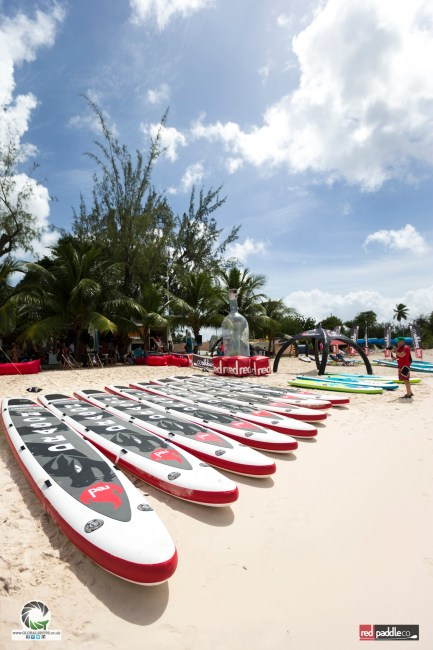 Dragon World Championships Red Paddle boards