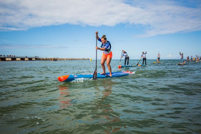 Fiona Wylde Starboard Sup Sup Racers Brand leader