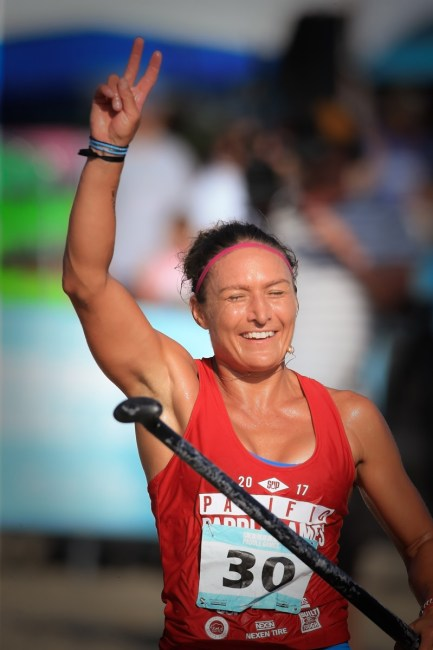 Annabel Anderson Pacific Paddle Games distance win
