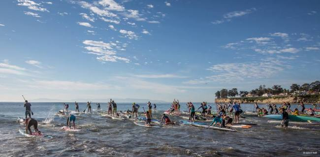 Race start santa cruz paddlefest Jason Self photo