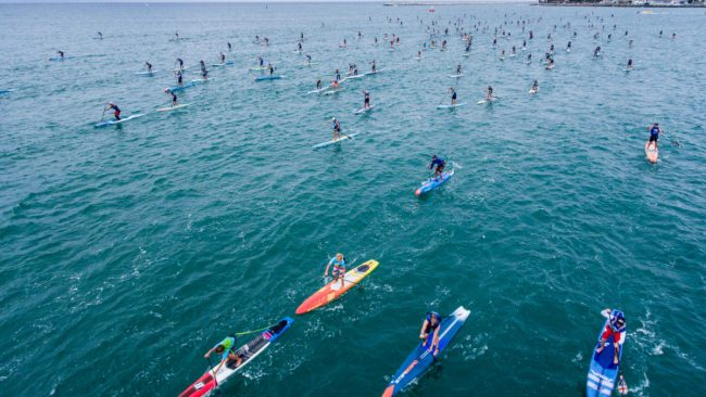 Pacific Coast Paddle Games Doheny Beach