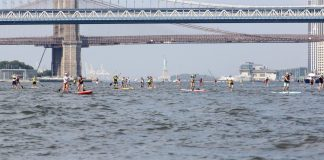 SEA Paddle NYC Statue of Liberty