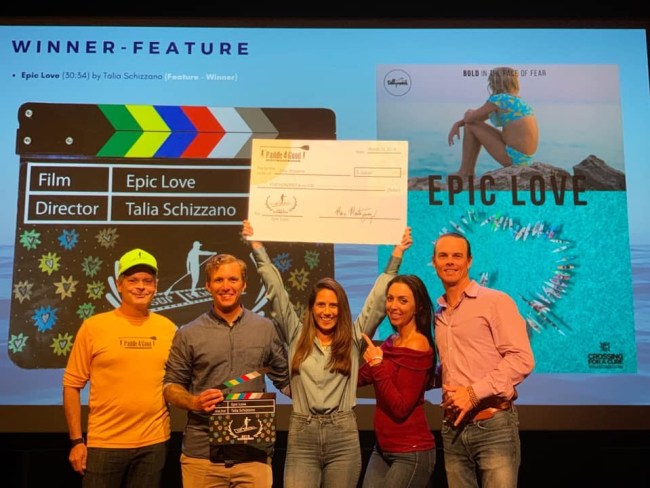 Epic Love SUP Film Fest Crossing for a Cure Tallymark Productions