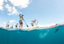 The Paddle League Air France Paddle Festival Elite Race Tahiti