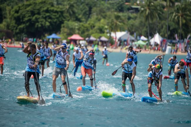 Air France Paddle Festival Tim McKenna Photography men elite sup ra