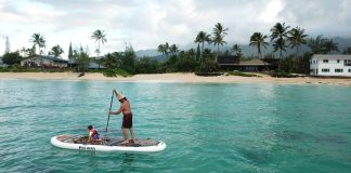 Pau Hana Oahu Nui inflatable stand up paddle board