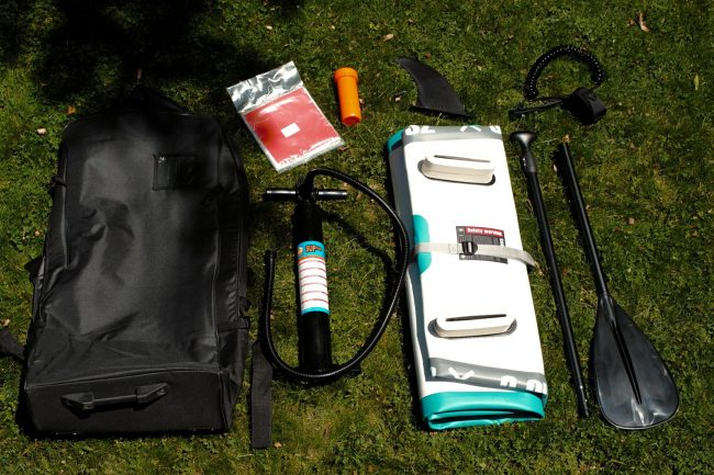 Goosehill SUP bag and kit