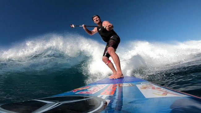 Bjorn Dunkerbeck SUP Surf