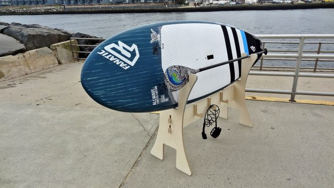 Rack Labs Stand up paddle board horse fully loaded