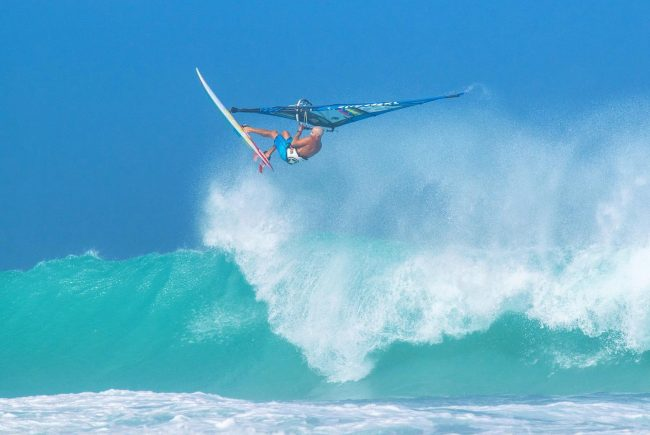 Diony Guadagnino Beach Culture World Tour windsurfing