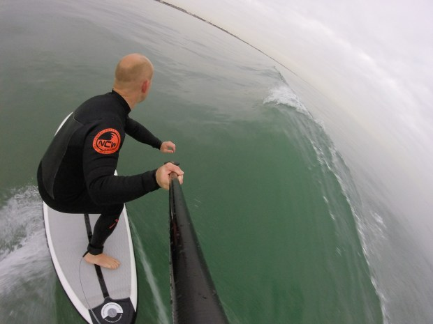 Flymount GoPro SUP paddle attachment