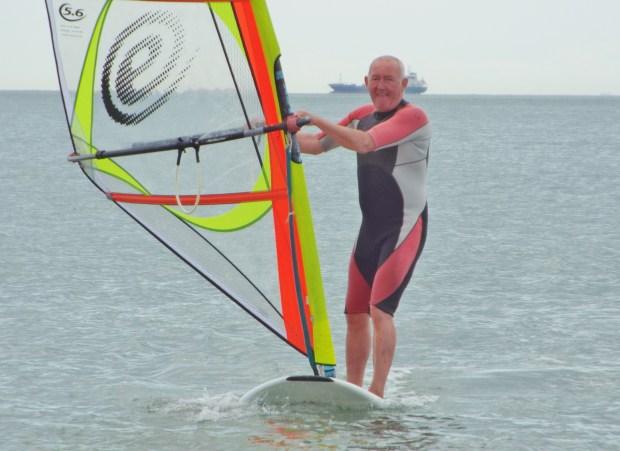 Stan Wheeler windSUP