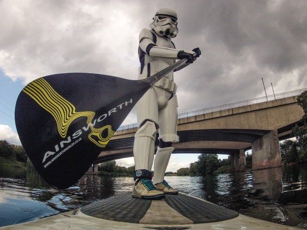 Storm trooper SUP - Pic:Ainsworth Paddles UK/Dale Mears Photography