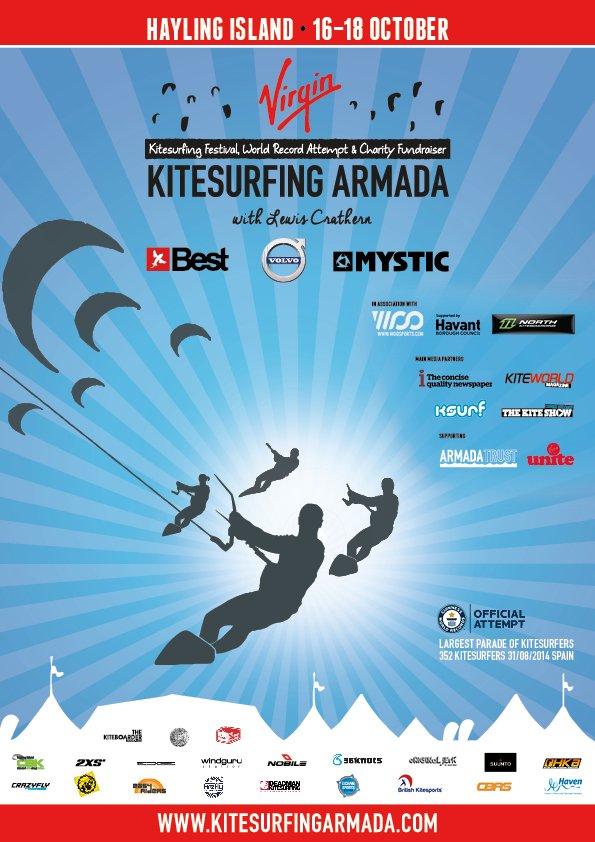 Virgin KItesurfing Armada 2015