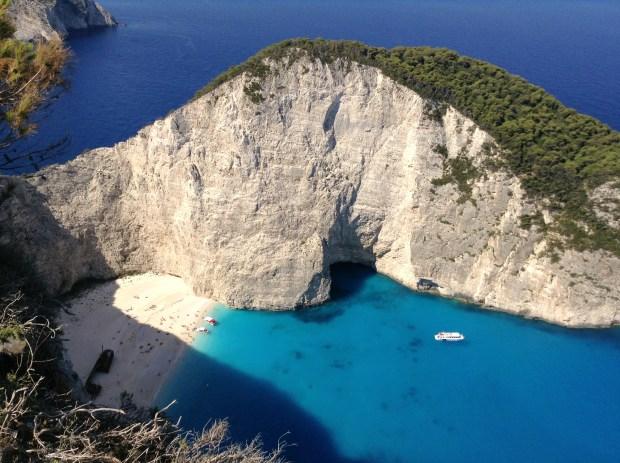 Shipwreck Bay Zakynthos