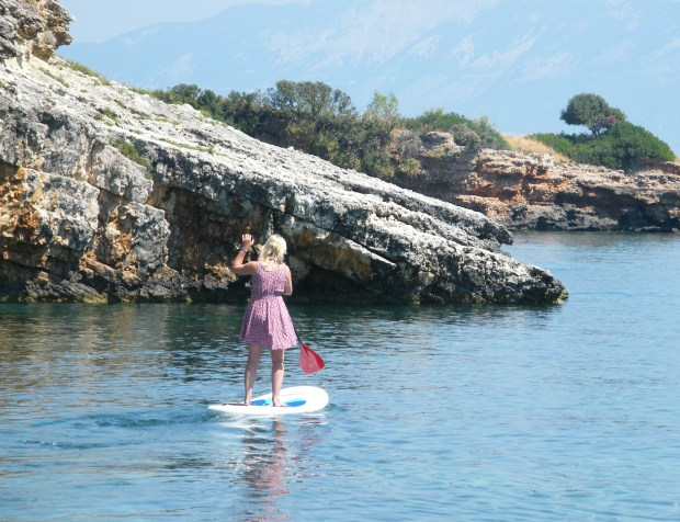 Zante fishing boat SUP Mag UK