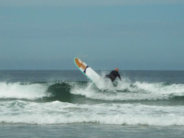 Gwithian stand up paddle surfing