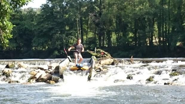 Stephen Hale river SUP France